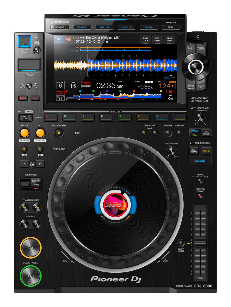 "Pioneer CDJ-3000 Professional Media-Player with 9"" HD Touch Screen OCT. PRE-ORDER"