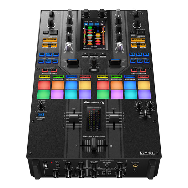 Pioneer DJM-S11-SE (909 Edition) Professional 2-Channel Mixer for Serato DJ Pro & Rekordbox