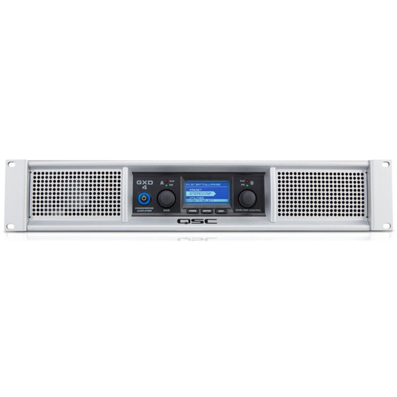 QSC GXD4 Professional Power Amplifier with DSP Processing