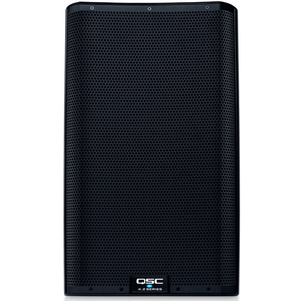 "QSC K12.2 | 4KW Powered 12"" Speakers & Stands Package System 1"