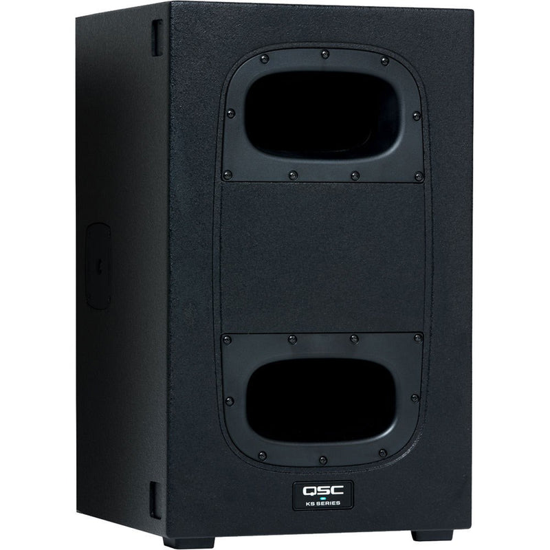 "QSC KS112 | 2KW Compact Powered 12"" Subwoofer"