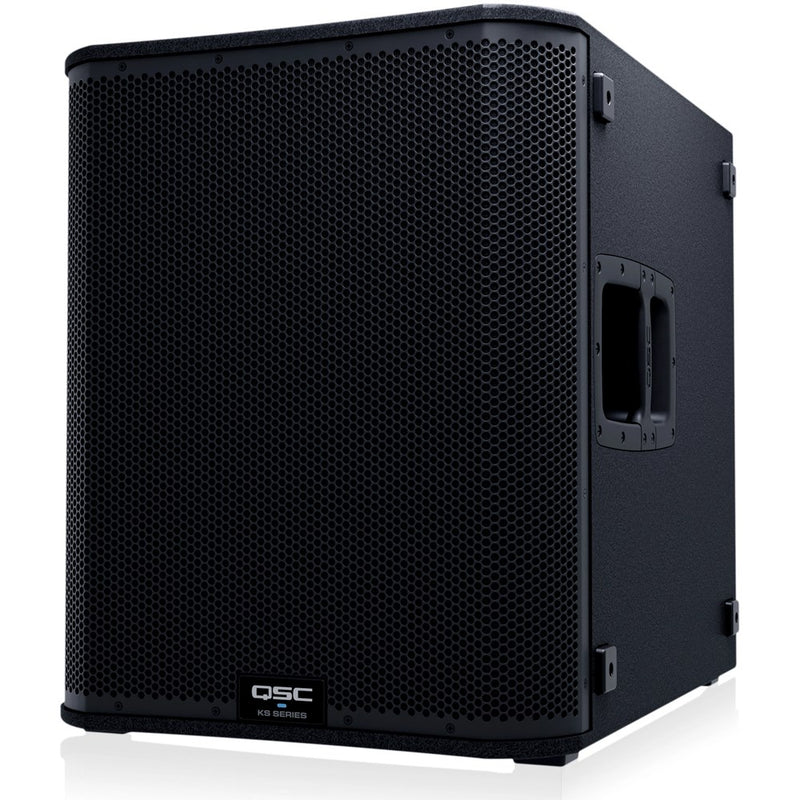 "QSC K12.2 + KS118 | 7.6KW Powered 12"" Speakers with Powered 18"" Sub & Stands Package System 3"