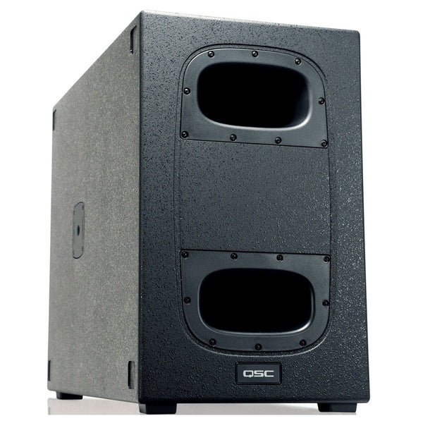 "QSC KS212C | 3.6KW Dual 12"" Powered Cardioid Subwoofer 