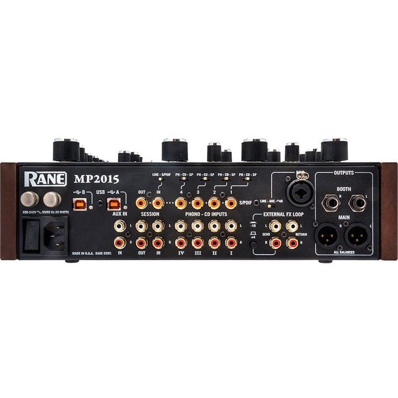 Rane MP2015 Rotary Club Mixer | Traktor Certified & Serato DVS Ready