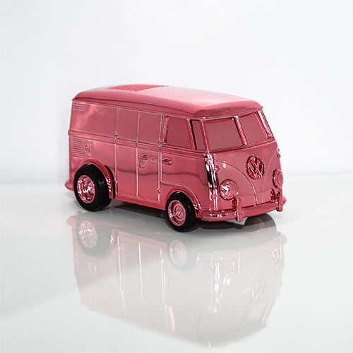 Stokyo RECORD RUNNER (SoundWagon) Portable Record Player | Pink Chrome Edition