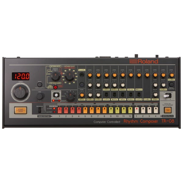 Roland Boutique TR-08 Compact Rhythm Composer | Based on Classic TR-808