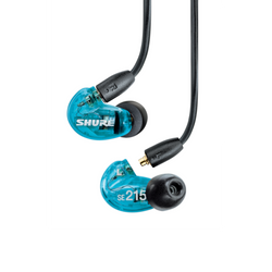 Shure SE215 Sound Isolating Earphones Blue
