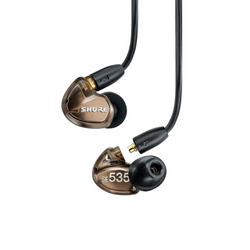 Shure SE535 Sound IsolatingTriple-Driver Earphones Bronze