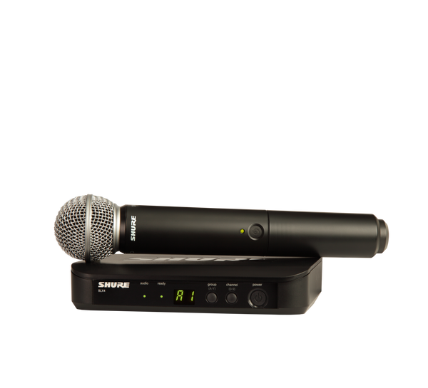 Shure BLX24-SM58 Handheld Wireless Mic System | NZ AUTHORISED