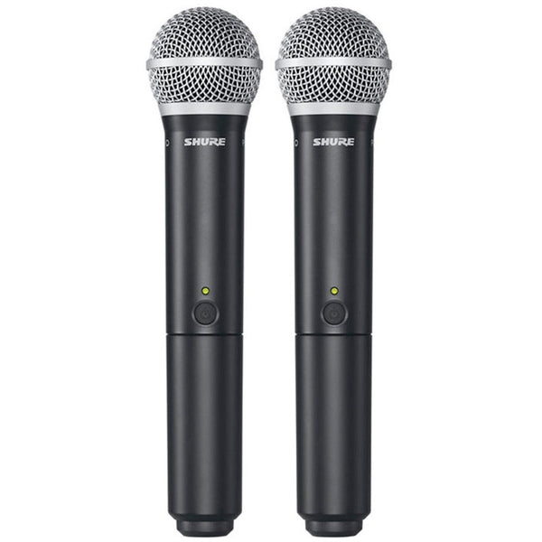 Shure BLX288-SM58 Dual Handheld Wireless Mic System | NZ AUTHORISED