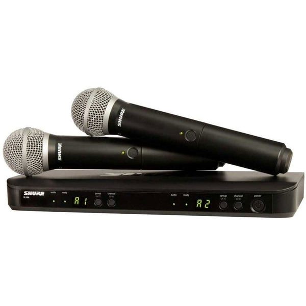 Shure BLX288-BETA58 Dual Handheld Wireless Mic System | NZ AUTHORISED