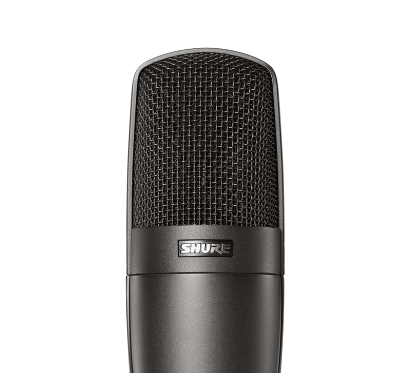 Shure KSM32 Studio Single-Diaphragm Microphone Charcoal Grey