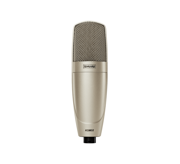 Shure KSM32 SL Studio Single-Diaphragm Microphone Champagne