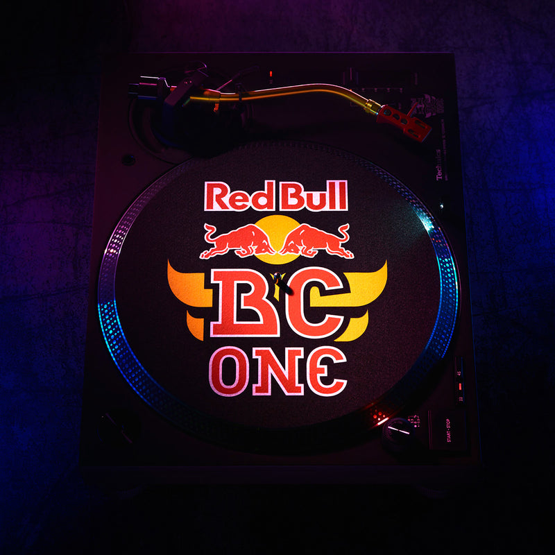 Technics SL-1210MK7R Red Bull BC One Limited Edition Direct-Drive DJ Turntable