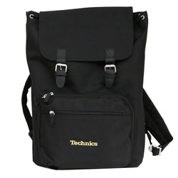 Technics Vinyl / Laptop Rucksack (Gold embroidery)