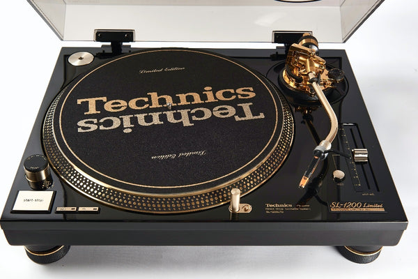 Technics SL-1200 LTD | 25th Anniversary Limited Edition Gold Turntable