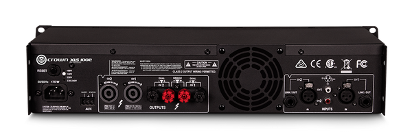 Crown XLS1002 DriveCore Series Power Amp (2x 350W @ 4ohm)