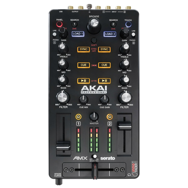 Akai AMX Mixing Surface and Controller for Serato DJ with mini Innofader