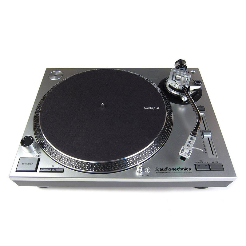 Audio Technica AT-LP120 USB Turntable Silver