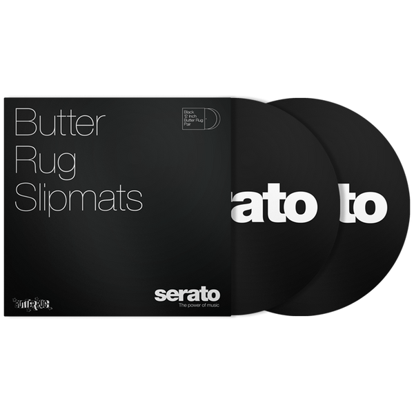 "Serato BUTTER RUGS 12"" Slipmats (Pair)"