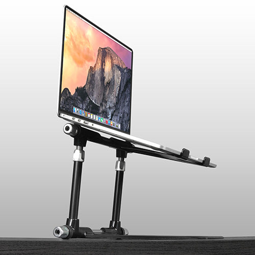 Crane Stand Elevate Laptop & Electronics Stand  | Black