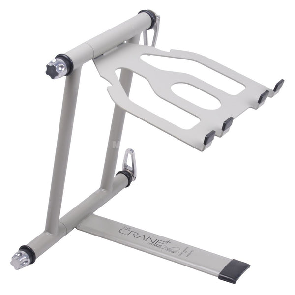Crane Stand Plus Laptop & DJ Gear Stand White