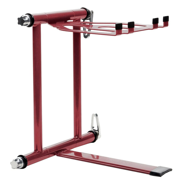 Crane Stand Plus Laptop & DJ Gear Stand Red