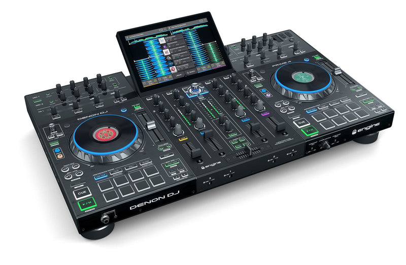 "Denon PRIME 4 Standalone 4-Deck DJ System with 10"" Touchscreen IN STOCK"