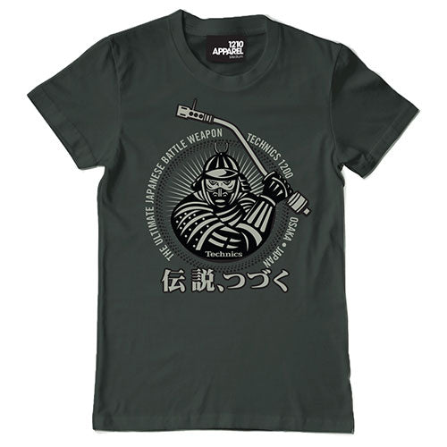 DMC Technics SAMURAI Men's Tee (Charcoal Grey)