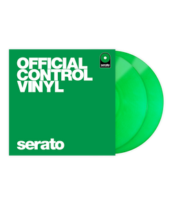 Serato Performance Series Control Vinyl Green (Pair)