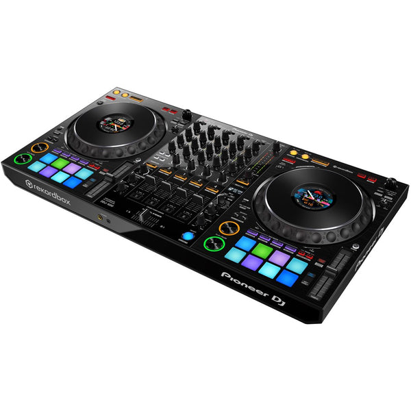 Pioneer DDJ-1000 4-Channel Rekordbox DJ Controller with Jog Wheel Display (optional UDG Flight Case)