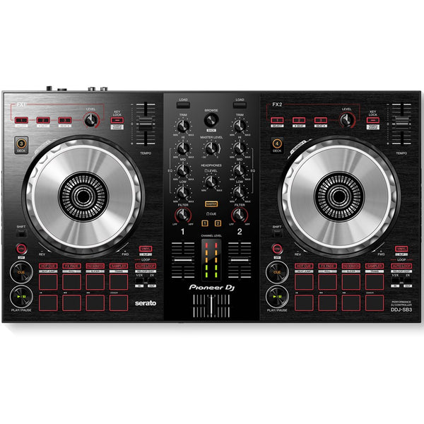 Pioneer DDJ-SB3 2-Channel DJ controller for Serato DJ Lite JULY PRE-ORDER