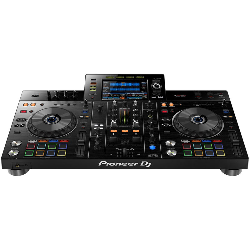 "Pioneer XDJ-RX2 All-In-One Rekordbox DJ Controller with 7"" Display Screen (optional Shell or Flight Case)"