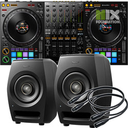 Pioneer DDJ-1000 4-Channel Rekordbox Controller X RM-05 Monitors Package MAY PRE-ORDER