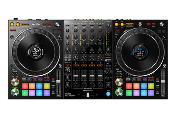 Pioneer DDJ-1000SRT 4-Channel Controller for Serato DJ Pro X RM-05 Monitors Package