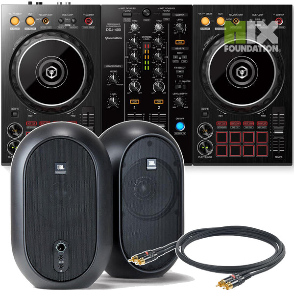 Pioneer DDJ-400 2-Channel DJ controller for Rekordbox DJ | Beginner Pack 1.5