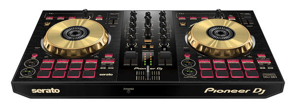 Pioneer DDJ-SB3-N 2-Channel DJ controller for Serato DJ Lite (Limited Gold Edition)
