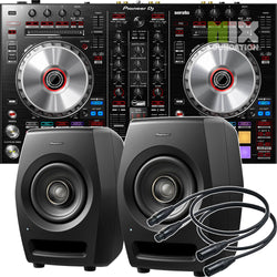 Pioneer DDJ-SR2 2-Channel Controller for Serato DJ Pro X RM-05 Monitors Package  OCTOBER PRE-ORDER