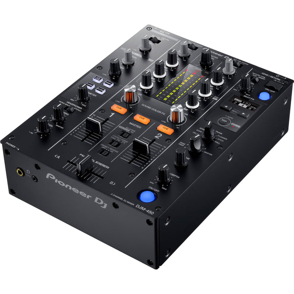 Pioneer DJM-450 2-Channel DJ Mixer with Rekorbox DJ