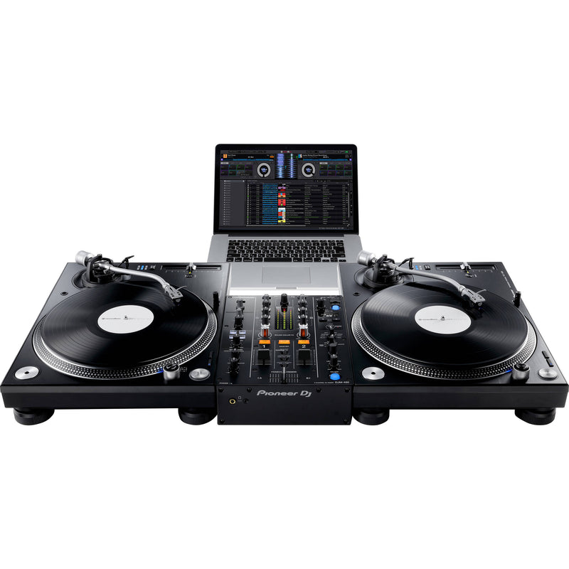 Pioneer PLX-1000 Turntable with DJM-450 DJ Package