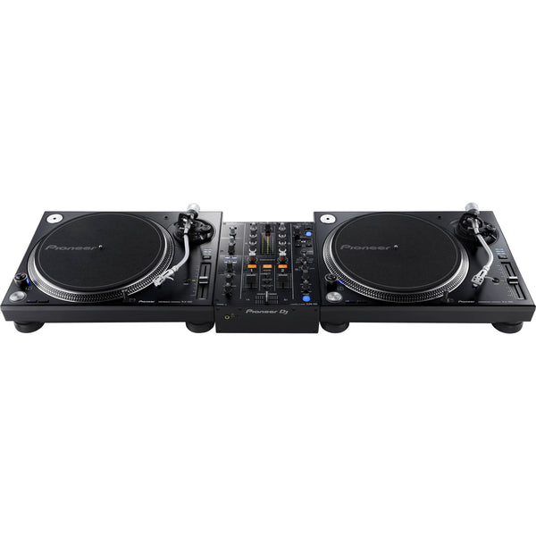 Pioneer PLX-1000 Turntable with DJM-450 Mixer DJ Package