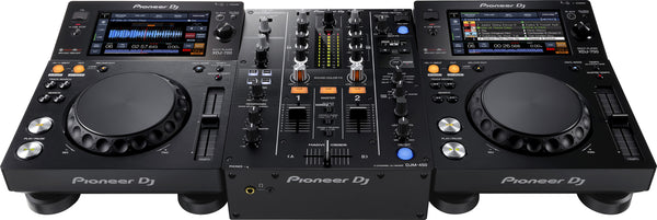 Pioneer XDJ-700 with DJM-450 Digital Media DJ Package