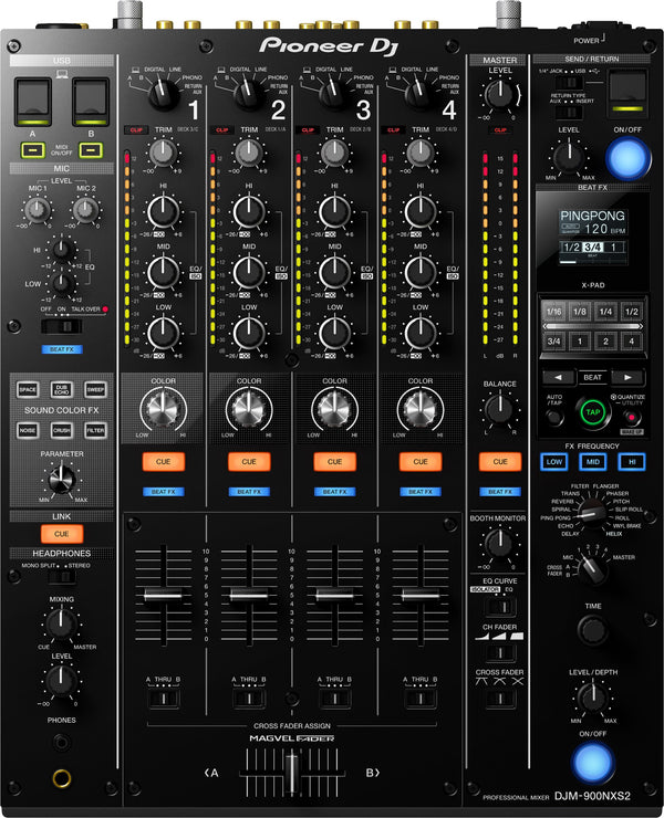 Pioneer CDJ-900 Nexus X DJM-900NXS2 Digital Package