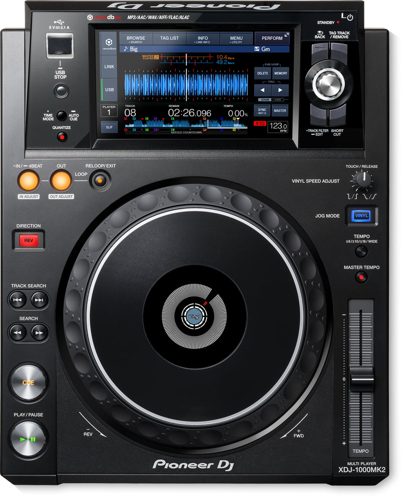 Pioneer XDJ-1000MK2 Performance Multiplayer with Touchscreen