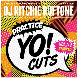 DJ Ritchie Rufftone PRACTICE YO! CUTS Vol.1&2 REMIXED 7 Inch Battle Record