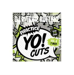 DJ Ritchie Rufftone PRACTICE YO! CUTS Vol.8 REMIXED 7 Inch Battle Record