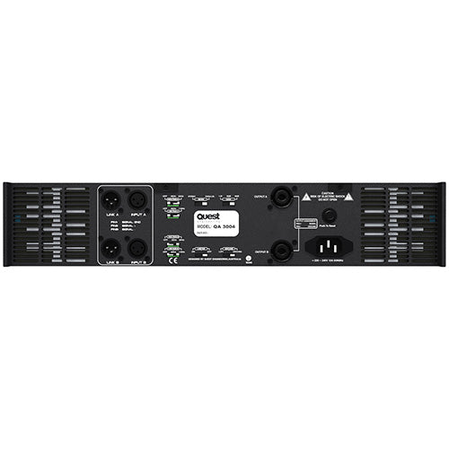 Quest QA2004 Power Amplifier