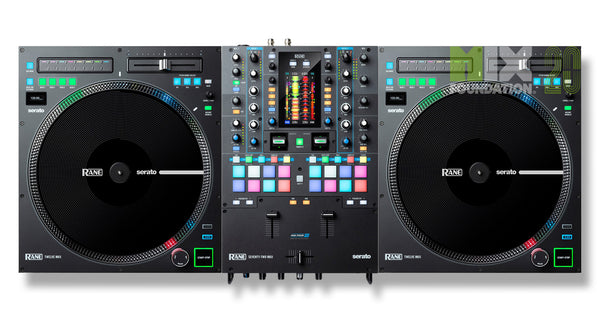 Rane SEVENTY-TWO MKII Premium Serato Mixer X TWELVE MKII Turntable Controller DJ Package