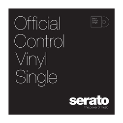 Serato Performance Series Control Vinyl Black (Single)
