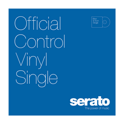 Serato Performance Series Control Vinyl Blue (Single)